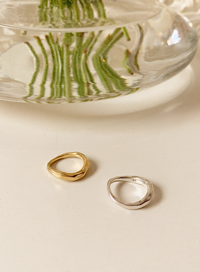 (Silver 925) near ring (2 colors) (5 sizes)
