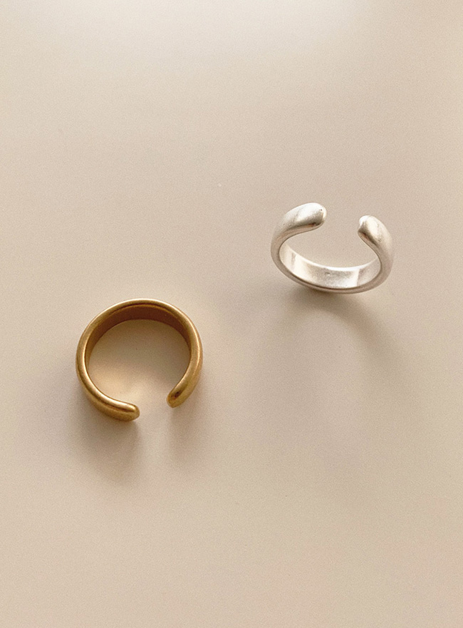 simple open ring (2 colors) (Allergy free)