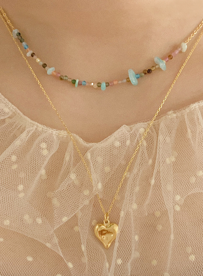 summer beads necklace