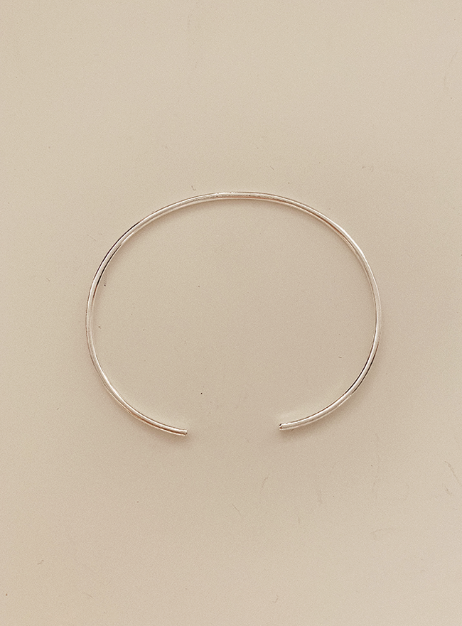 (Silver 925) simple bangle
