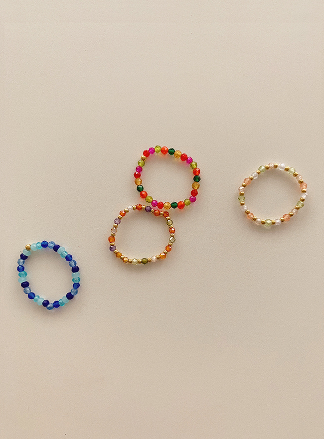 each beads ring (2 types)