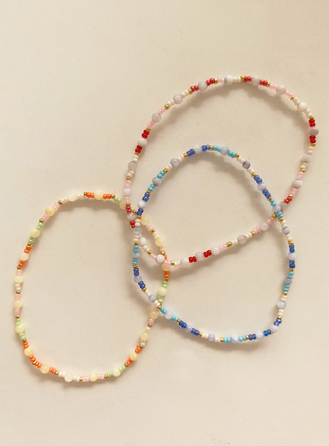 sweet and sour bracelet (3 colors)
